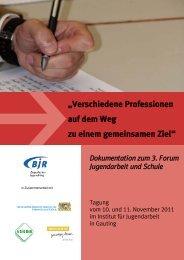 7.Jugendarbeit und Schule - Bayerischer Jugendring