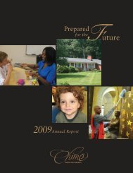 Chimes Annual Report 2009