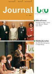 Mikrofinanz Weltkulturerbe - BKU