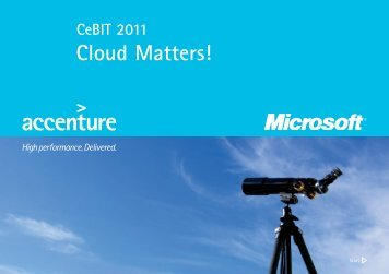 Cloud Matters!