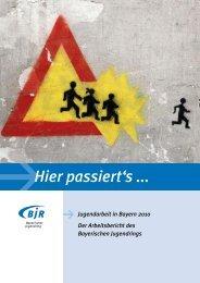 Arbeitsbericht 2010 - Bayerischer Jugendring
