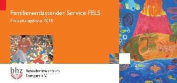 Familienentlastender Service FELS - Behindertenzentrum Stuttgart ...