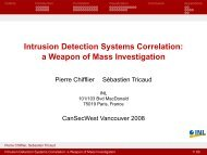 Intrusion Detection Systems Correlation a Weapon of Mass Investigation