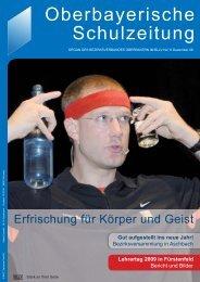 Lehrertag 2009 - Bayerischer Lehrer