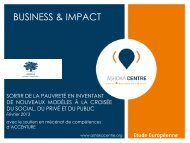 BUSINESS & IMPACT