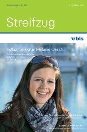 Volksmusik-Star Melanie Oesch: - BLS AG