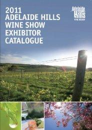 2011 results - Adelaide Hills Wine Region