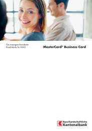 MasterCard® Business Card - BLKB