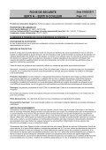FICHE DE SECURITE SERTI N – SERTI N COULEUR - George Weil - Page 3