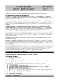 FICHE DE SECURITE SERTI N – SERTI N COULEUR - George Weil - Page 6