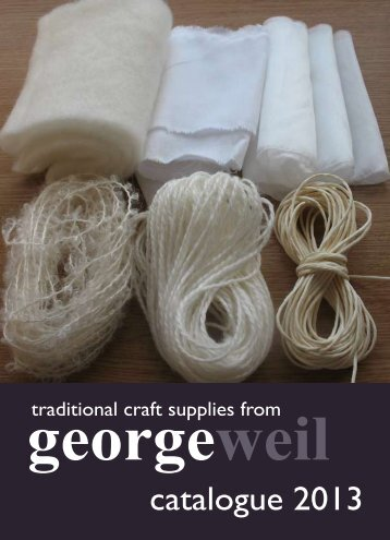 catalogue 2013 - George Weil