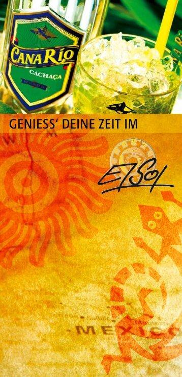 GENIESS' DEINE ZEIT IM