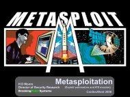 Metasploitation