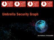 Umbrella Security Graph