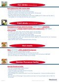 Cold drinks Hot meals Quiche Provence herbs - Page 3