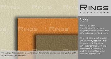 Vollnarbiges Anilinleder mit leichter Pigment-Nivellierung, einem ...