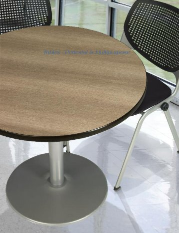 Tables - Pedestal & Multipurpose