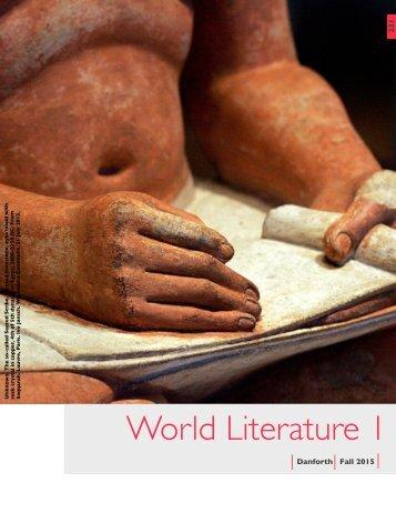 World Literature 1