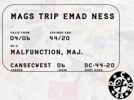 MAGS TRIP EMAD NESS