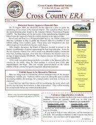 Cross County ERA - Cross County Historical Society