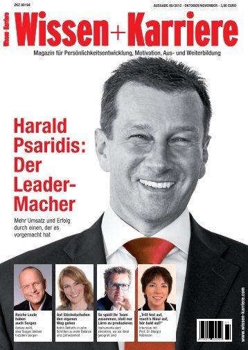 Harald Psaridis: Der Leader- Macher - 5 Sterne Redner