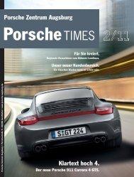 PorscheTimes Vorlagedokument - Dr. Ing. hc F. Porsche AG ...