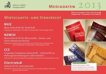 NZWiSt - Verlag C. H. Beck oHG