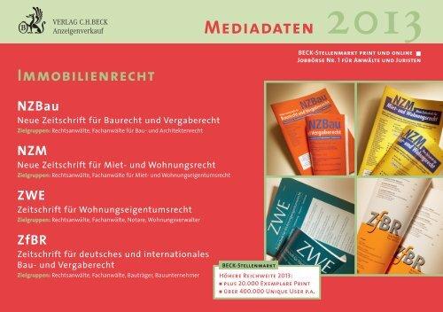 NZM - Verlag C. H. Beck oHG