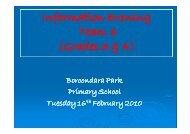 Grades 3 & 4 - Boroondara Park Primary School