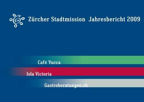 Zürcher Stadtmission Jahresbericht 2009
