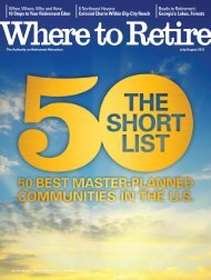 The Short List 50 Best Master-Planned Communities in the United States