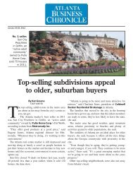 Top-selling subdivisions appeal to older, suburban buyers - Del Webb