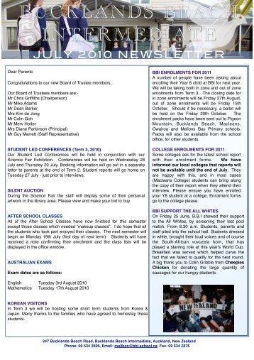 B.B.I NEWSLETTER PAGE 2