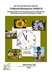 Treffpunkt Biologische Vielfalt XI - Bundesamt für Naturschutz
