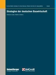 Strategien der deutschen Bauwirtschaft – Chancen ... - Roland Berger