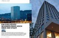 ein exklusives wohnerlebnis hoch über der stadt - Mobimo Tower