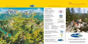 Ihre Wanderprofi-Partner Sommer-Panorama - Tiroler Zugspitz Arena