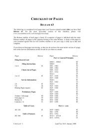 CHECKLIST PAGES