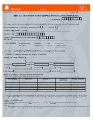 internet banking maldives application form