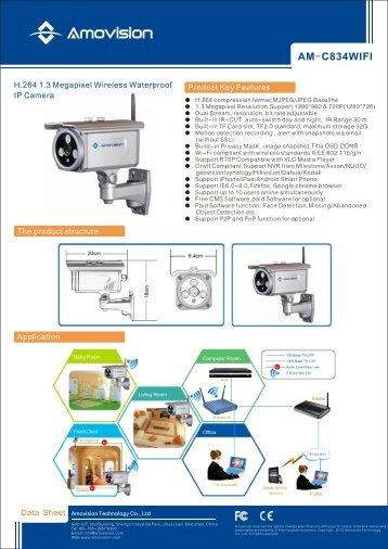 Data sheet - Amovision Technology Co., Ltd