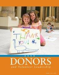 and Volunteer Leadership - Carnegie Museums
