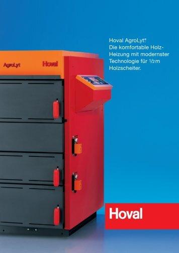 Details zu Hoval AgroLyt (PDF) Holz