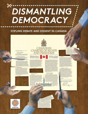 DISMANTLING DEMOCRACY