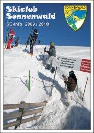 SC-Info 2009/2010.pdf - SC-Sonnenwald eV