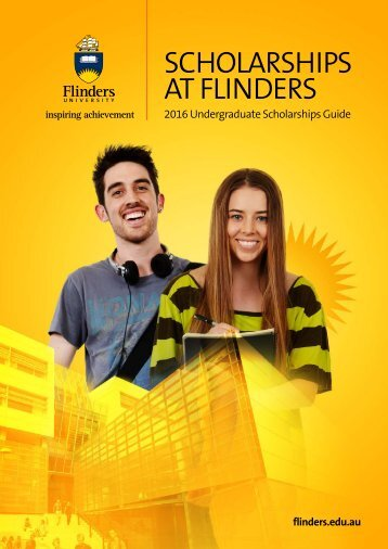 SCHOLARSHIPS AT FLINDERS