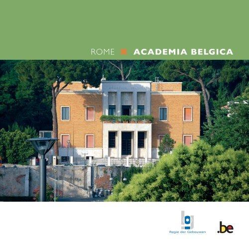 Verder lezen - Academia Belgica