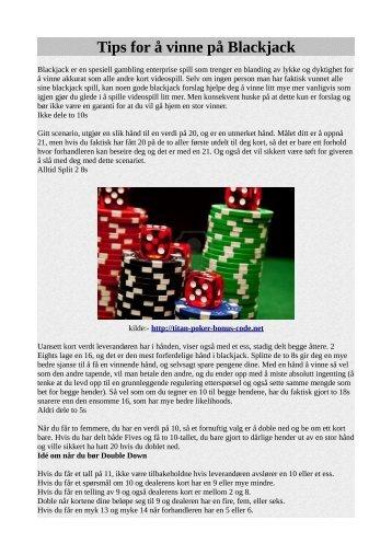 on-line casino for å spille for virtuelle penger