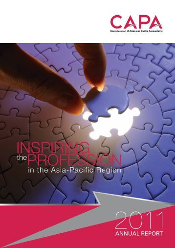 Annual Report 2011 - Confederation of Asian and Pacific Accountants