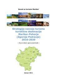 Strategija razvoja turizma turistične destinacije Maribor-Pohorje ...