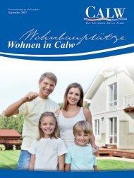 lage und weitere infos - Stadt Calw